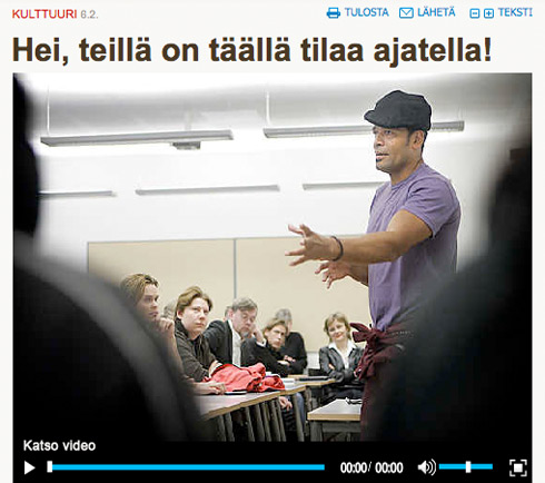 Mario Van Peebles in Oulu