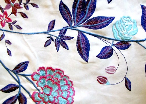 Embroidered fabric 3