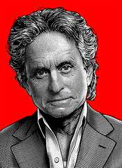 Michael Douglas Wall Street 2 Art (Mel Marcelo) Tags: portrait face vectorart adobephotoshop stamp actor woodblock malemodel gekko adobeillustrator spotcolors melito cutlines wallstreet2 melmarcelo