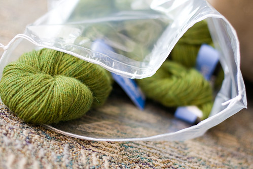 beautiful pea soupy yarn