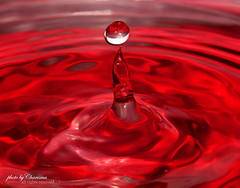 i (Charisma,) Tags: red water drop charisma ماء قطرة كاريزما
