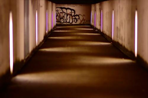 Le couloir du temple Jedi.