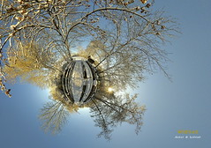 winter (die sternenbeleuchtung) Tags: schnee winter panorama snow schweiz switzerland swiss pano gimp samsung 360 projection sphere ag planet polar stereography 360x180 360 stereographic hugin pro815 kantonaargau littleplanet polarpanorama smallplanet
