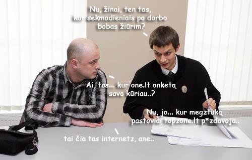 Lietuvos teismai ir LANVA juokina internetą
