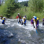 """Whitewater rescue training <a style=""""margin-left:10px; font-size:0.8em;"""" href=""""http://www.flickr.com/photos/25543971@N05/4411733124/"""" target=""""_blank"""">@flickr</a>"""