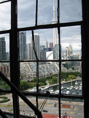 IMG_3807 (vlad TO) Tags: toronto window cntower waterfront decay frame malt