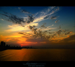 the story of a sunset (s@mar) Tags: sunset kuwait msm salmiya mywinners