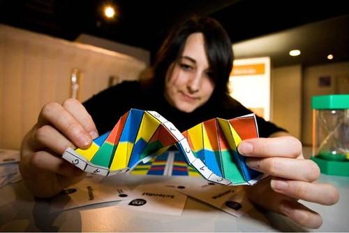 DNA Origami by Alex Bateman @sangerinsti by dullhunk, on Flickr