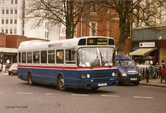 1051 DOC 51V (onthebeast) Tags: city bus green buses station centre wm national ii service leyland acocks