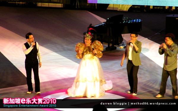 刘玲玲 and budak pantai performance