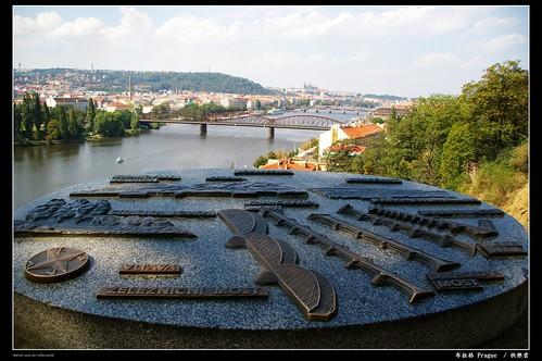 居高眺望布拉格城堡區1