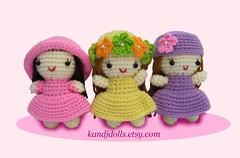 Kleine Mädchen (haekelanleitungen) Tags: menschen amigurumi spielzeug mädchen puppe handwerk häkeln handarbeiten gurumi häkelanleitung