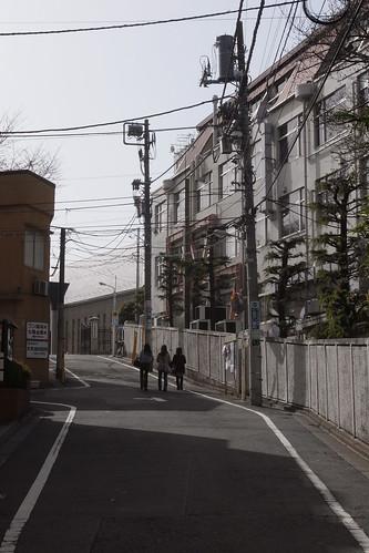 uphill street