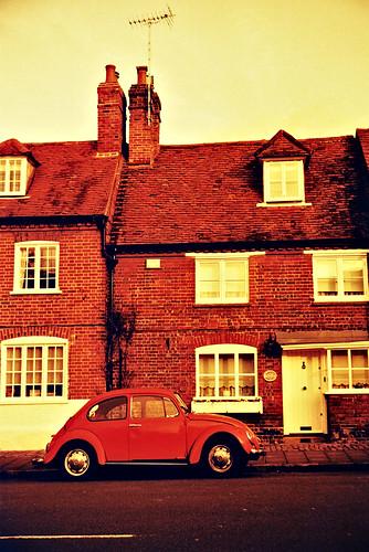 redscale car