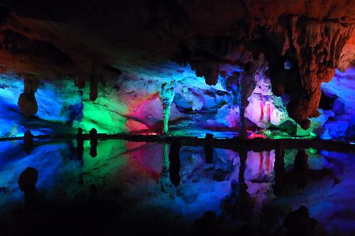 LianZhou Underground River by nermaleggycowiemuggy