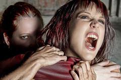 Rochelle and Nicole v2 (Randy Kashka) Tags: catfight fightclub rochelle nicolefitzhugh pdxstrobist0310 1306214