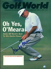 March 17, 1995, Autographed Golf World Magazine by Mark O'Meara (Joe Merchant) Tags: world by magazine golf march mark 17 1995 autographed omeara