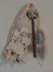 The key to Childhood (alteredmoments) Tags: baby moon house art nature glass floral birds atc collage digital altered vintage paper easter children bottle key babies nest lace mixedmedia tag egg captured feather rusty ephemera aceo eggs alteredart shabbychic viial