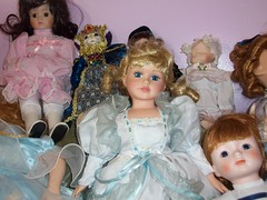 Haunted Doll Collection (moonandstarlite) Tags: blue ireland red irish baby green silver real gold scotland insane doll dolls dragon witch vampire ghost scottish spell haunted collection fairy faery haunting ghosts asylum enchanted possessed fae djinn entity