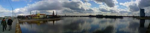Daugava River Panorama