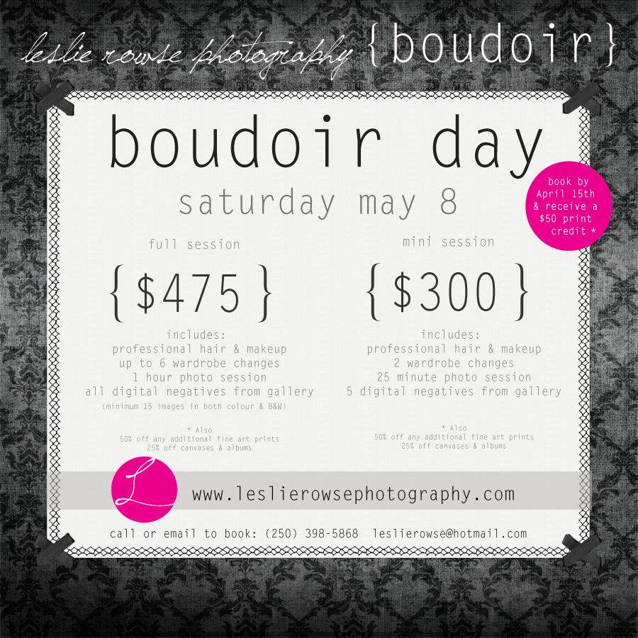may8th boudoir day
