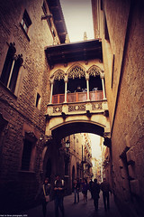 Gothic Quarter- Barcelona (Hadi Al-Sinan Photography) Tags: barcelona old urban rural canon photography cool interesting shot post mark gothic style best ii processing l 5d 2010 hadi 2470mm alsinan