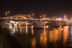 William Jolly Bridge at night