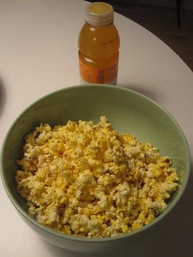Popcorn, Vitamin Water