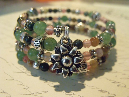 http://www.etsy.com/listing/74172999/three-layers-of-beads-bracelet-your-way by mSs Distinctive Designs Studio