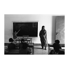 . (Emmanuel Smague) Tags: leica travel school girls boy portrait people blackandwhite bw woman film boys girl kids 35mm children photography kid education asia child classroom report documentary teacher mp bangladesh pupil pupils ngo breathofair emmanuelsmague