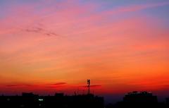 Sky (Stella VM) Tags: sunset sky beautiful clouds colours sofia bulgaria