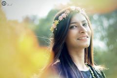 Portrait (Light Shadow Photography) Tags: portrait yallow green blue gloden nature flower nikon d3200 50mm 18g bangladesh