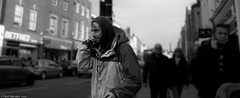 Outcast. (Neil. Moralee) Tags: tauntonsomersetpanasoniclumixlx7 outcast man street drug addict taunton somerset uk face dof depthoffield blurredbackground vagrent vagrant homeless poverty poor begging hod hoodie hoody black white bw bandw blackandwhite mono monochrome neil moralee panasonic lumix lx7 society commentry social reportage candid dark destitute