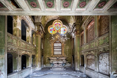 Domum Dei | Green Hues (James Kerwin Photographic) Tags: 2016 5ds abandoned abandonment architecture art building canon commercial decay derelict dereliction exploration explore fineart grand grandeur historic history images italian italy neglect norfolk norwich photography travel weddings
