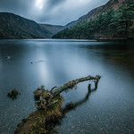 Upper lake in Glendalough - Wicklow, Ireland - Landscape photography thumbnail