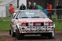 Audi Quattro (CBG1970) Tags: raceretro stoneleigh historic race rally classic motorsport motorracing audi audiquattro gpb