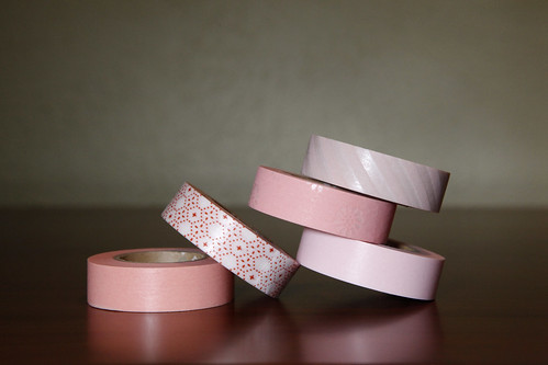 Japanese Washi Tape Lovely Pinks