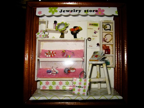 Miniature Jewelry Store