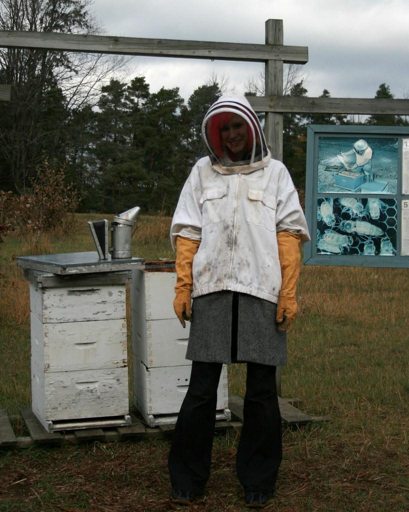 Jasna the beekeeper