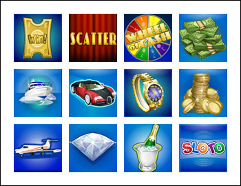 free Wheel of Cash slot game symbols