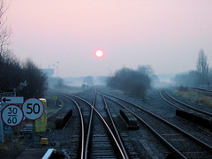 Northolt Junction (R~P~M) Tags: uk greatbritain england train unitedkingdom railway junction middlesex northolt pathscaminhos