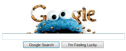 Google Cookie Monster Logo