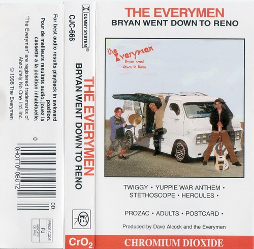 The Everymen - Bryan Went Down to Reno
