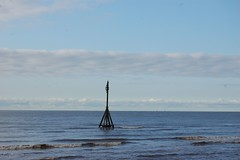 The view from Crosby beach (veryhappyhack) Tags: crosby antonygormley anotherplace