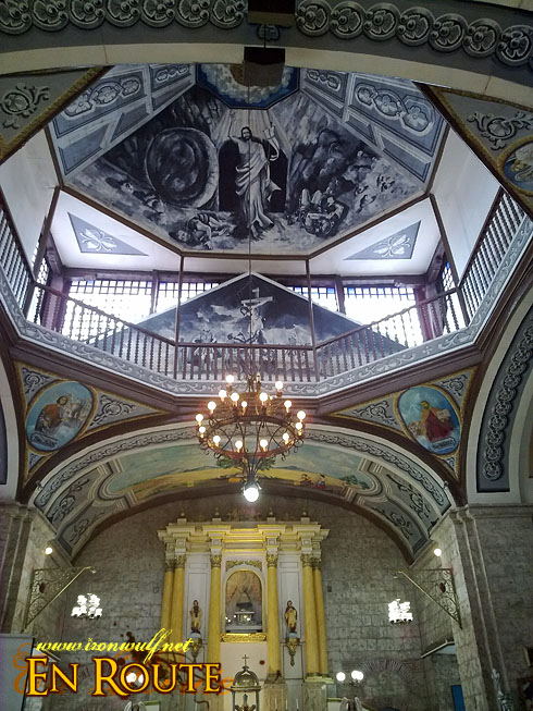 Taal Town N86  Caysasay Church Ceiling
