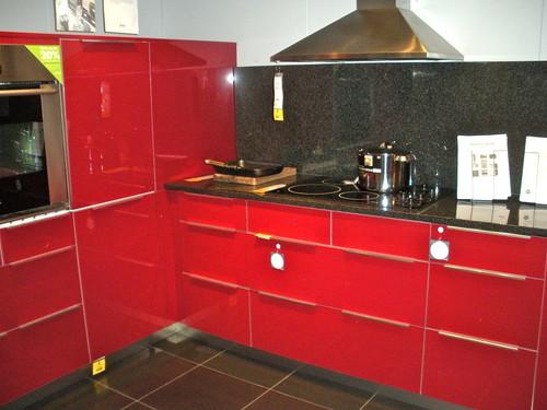 Ikea Red Kitchen