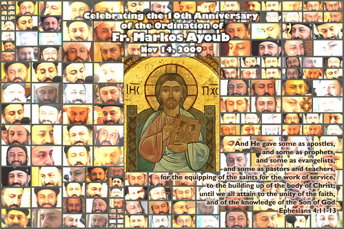 Celebrating Fr. Markos's 10th Ordination Anniversary