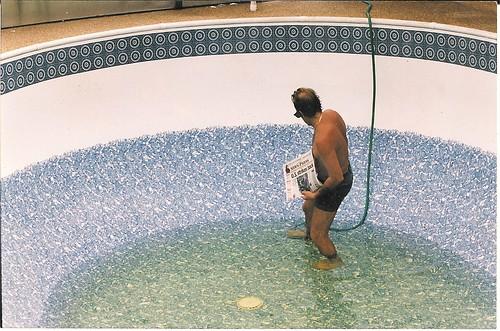 Pool after repair