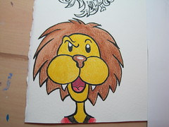 finished lion!
