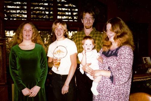 Rebecca, Ben, Brian, Laura, Mom